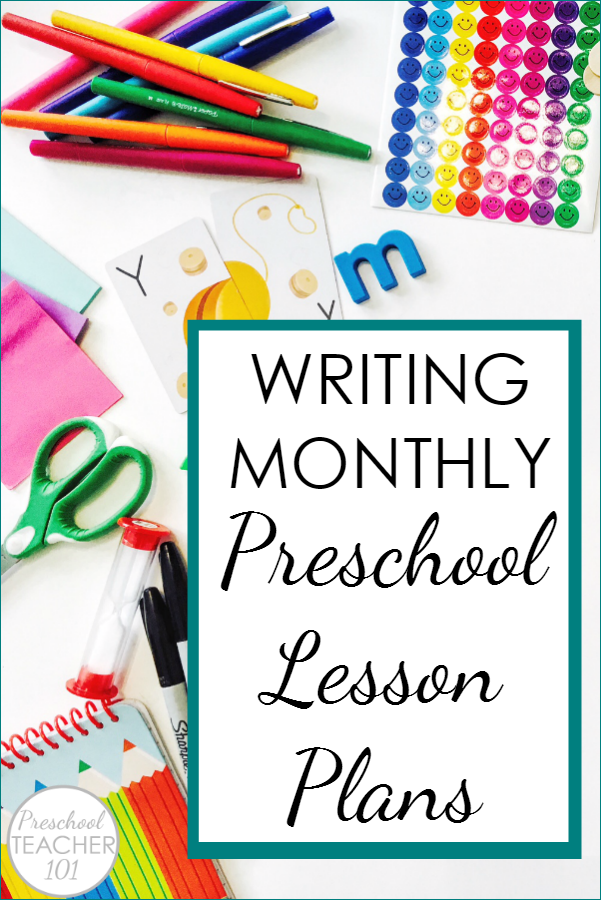 developing monthly preschool lesson plans step by step process of planning each month of preschool includes free printable