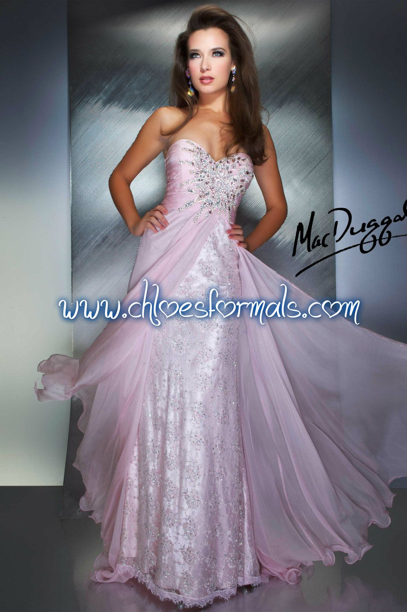 Sizes: 0 - 14 $538 Color: Ice Pink  #0378437/140