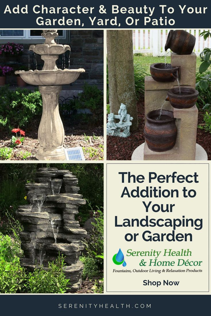 Serenity Health And Home Decor.Over The Centuries Fountains Evolved From Functional