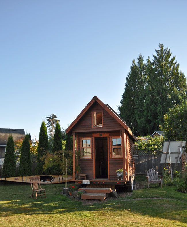 Codes And The Tiny House Tiny House Listings Building