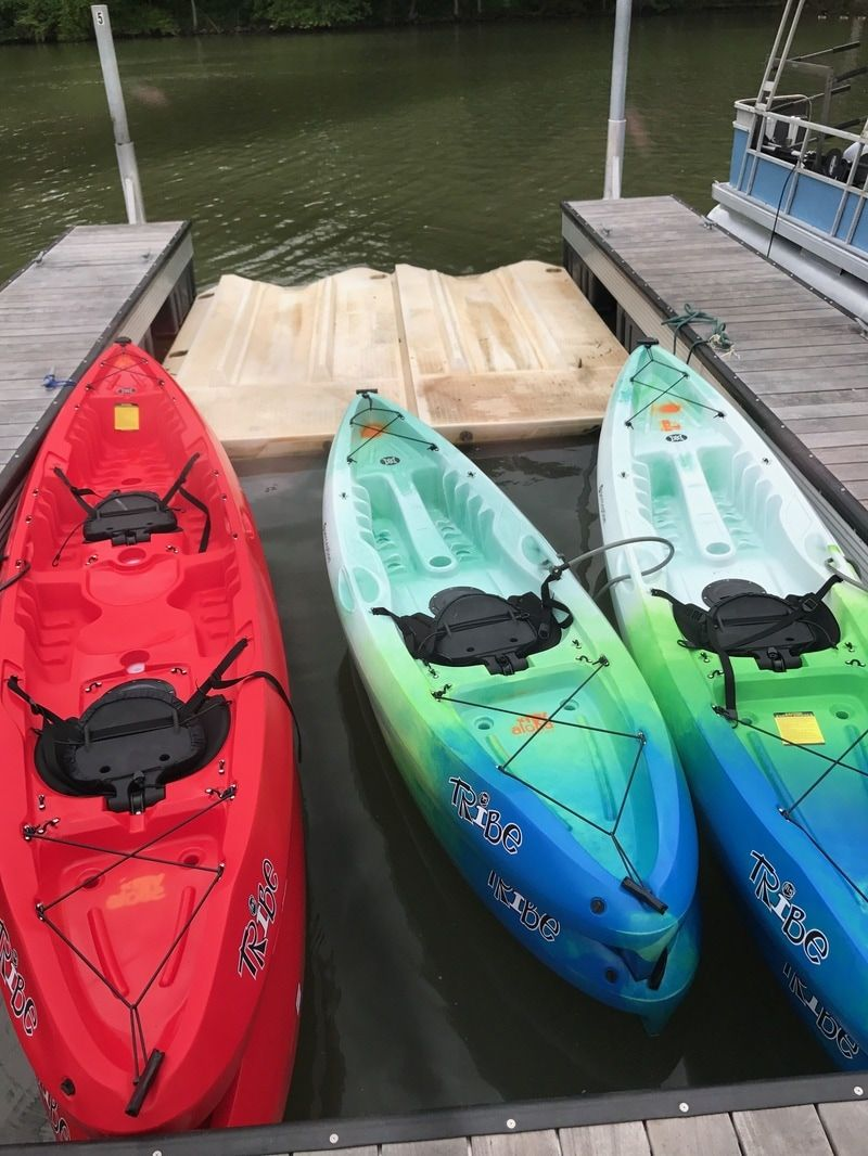 Daily hourly and weekly kayak rentals on lake norman