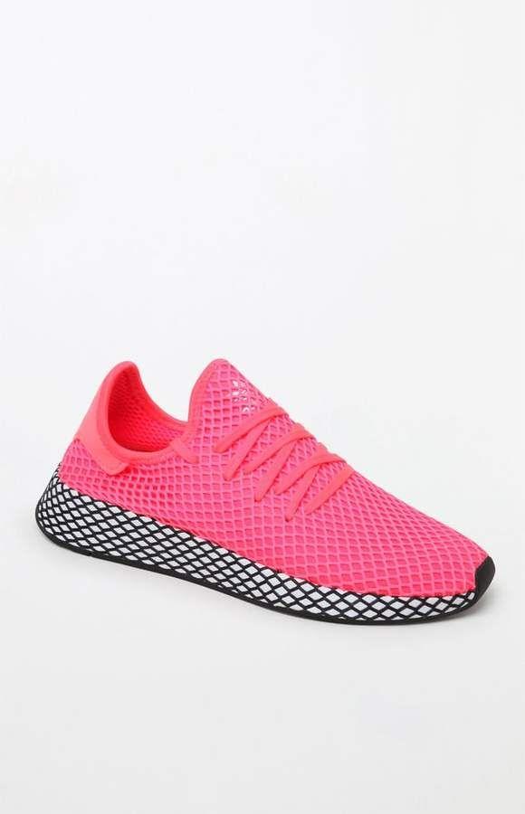 best cheap dbe7f 5eaa0 adidas Deerupt Runner Pink Shoes
