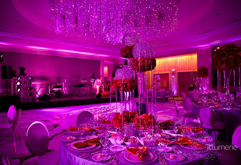 The Ritz Carlton Fort Lauderdale Wedding Lighting