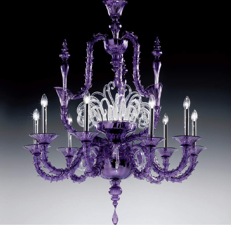 Large purple traditional rezzonico murano glass chandelier large purple traditional rezzonico murano glass chandelier dm0viva0k10 mozeypictures Images