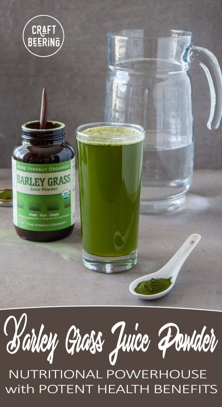 barley grass juice powder health benefits (there are many