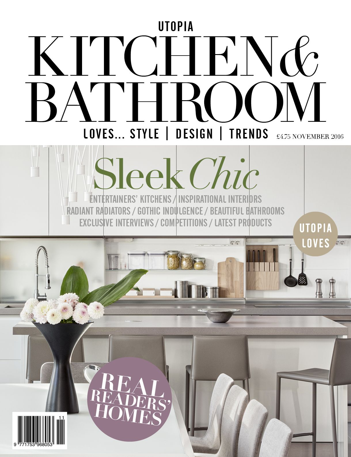 November 2016 issue of Utopia Kitchen & Bathroom magazine is now out ...