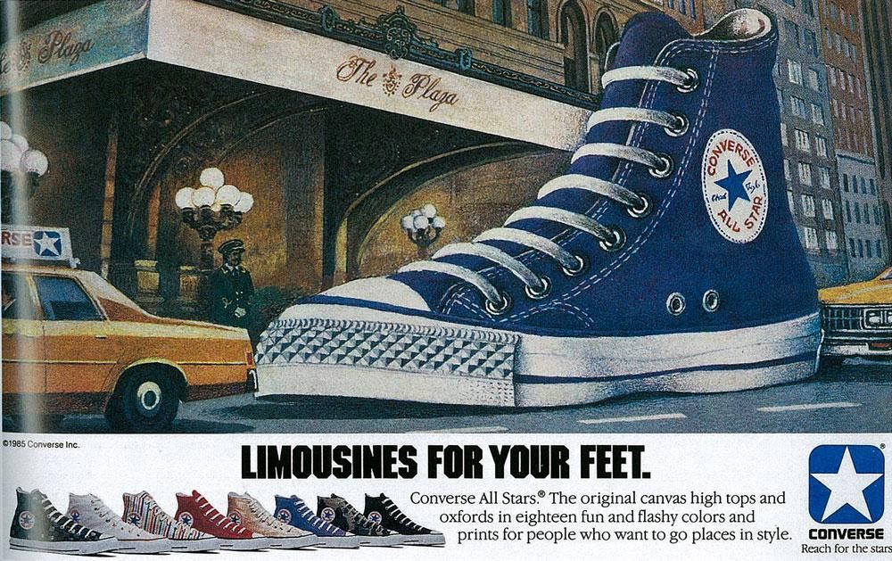 diluido Indomable Detector  1985 – Converse All Stars. | Converse, Converse vintage, Converse all star