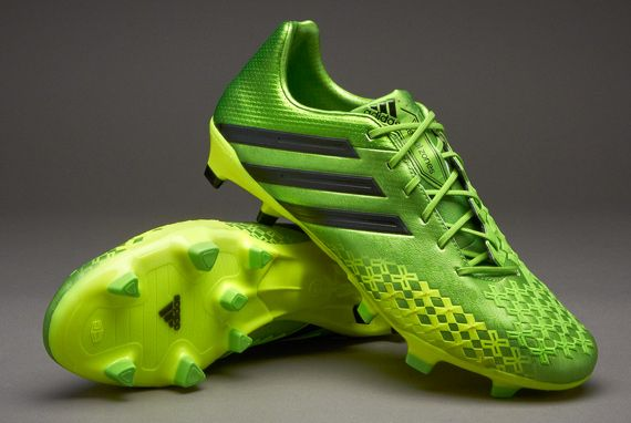 new products 9cc7c b3792 Adidas Predator LZ 2 | Green and black and neon green | Firm ...
