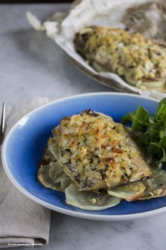 Sgombro gratinato con patate #recipe