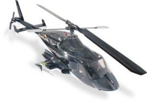 Century Airwolf 50 Gloss Black RC Helicopter Nitro Powered
