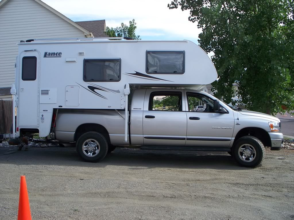 Truck Campers Lance 830 On A Dodge Megacab Pickup Camper