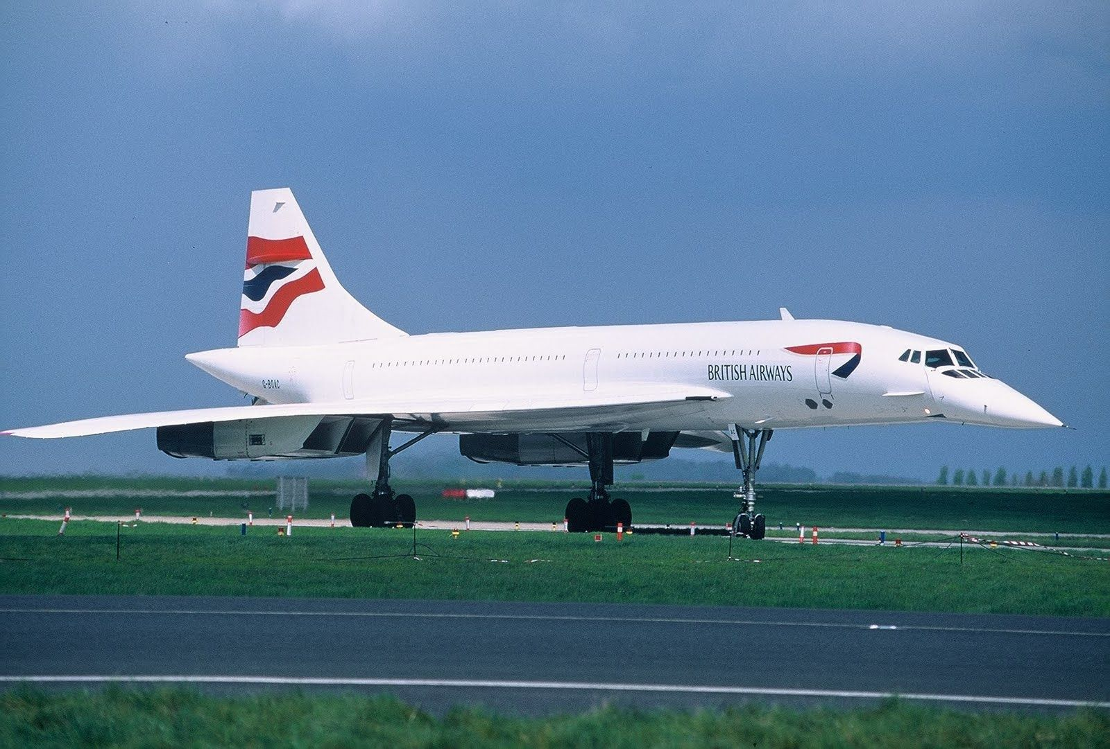 British Airways is one of two concorde's