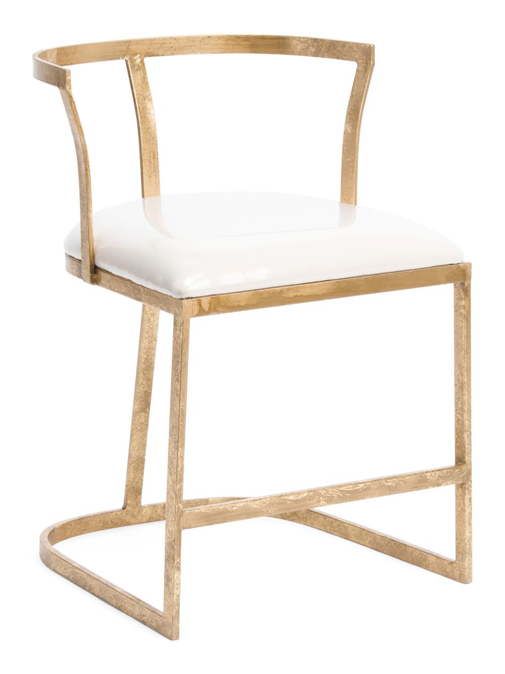 Glam Wishbone Chair Accent & Vanity Stools T.J.Maxx