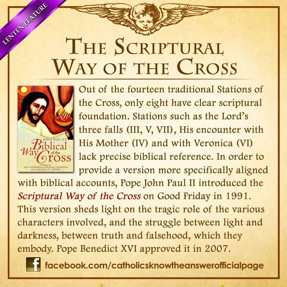 12 MARCH 2014 Scriptural Stations of the Cross 101