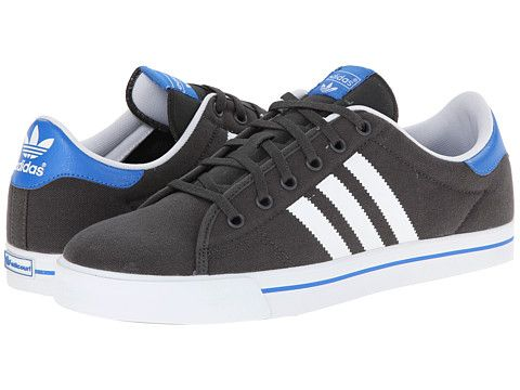 adidas con lo skateboard adicourt strisce dgh solido grigio / bianco / bluebird