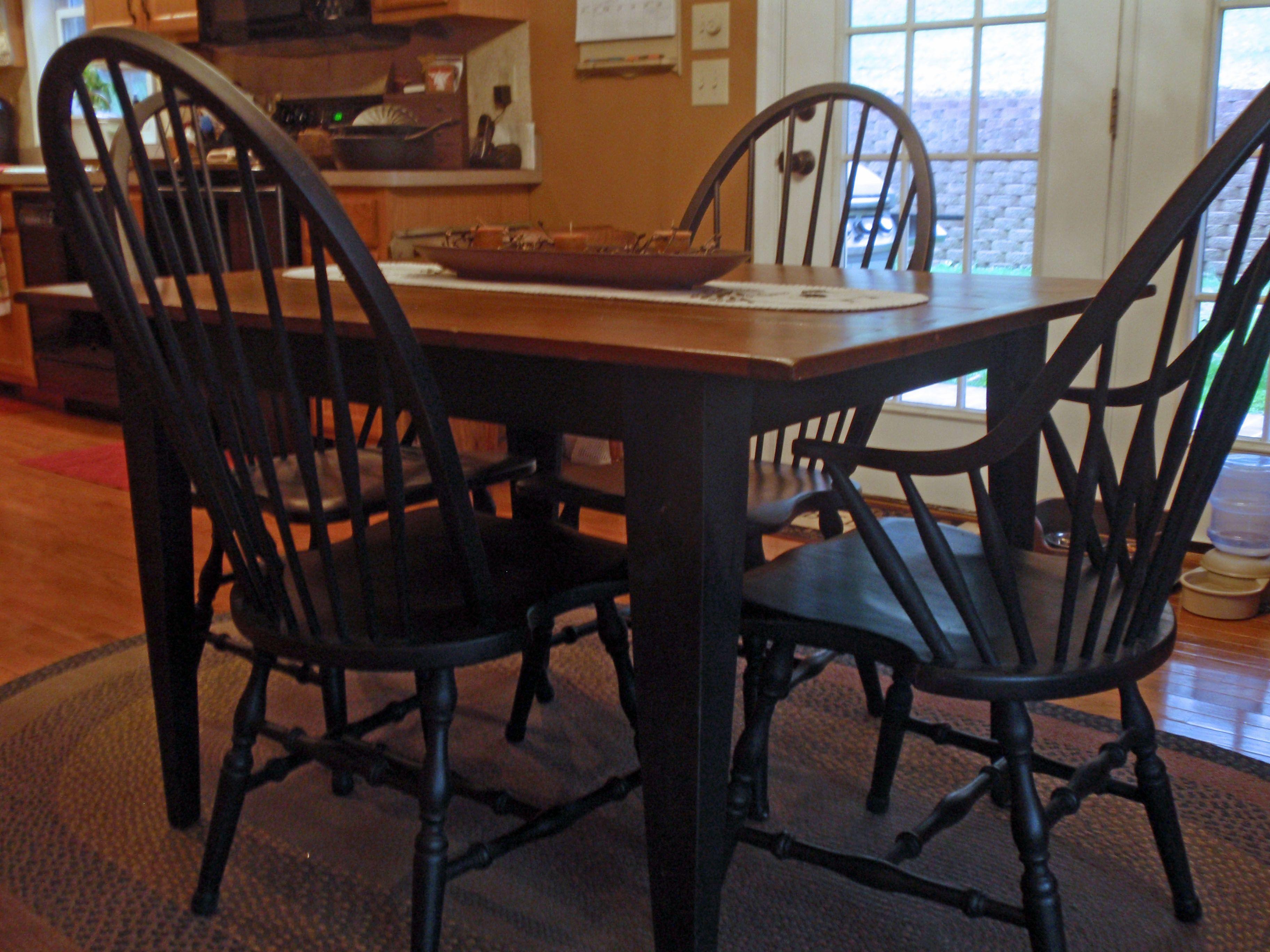 Primitive Dining Room Table Decor