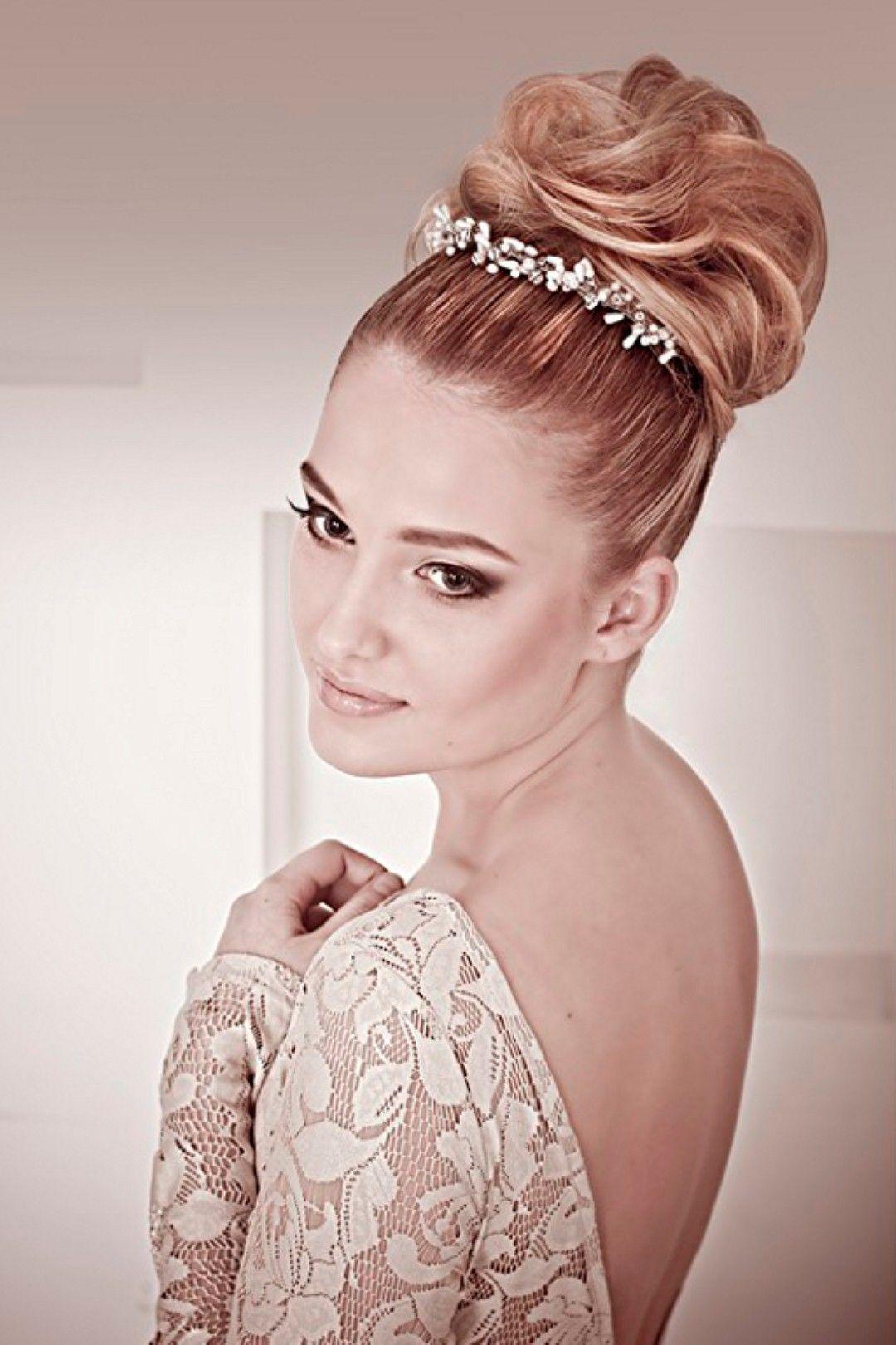 Wedding hairstyles for long hair bun style style pinterest