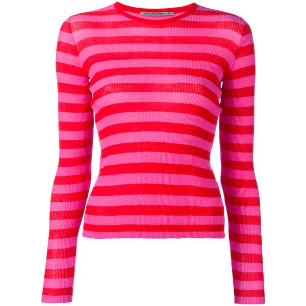 on wholesale clearance prices new list Ermanno Scervino striped jumper ($685) ❤ liked on Polyvore ...