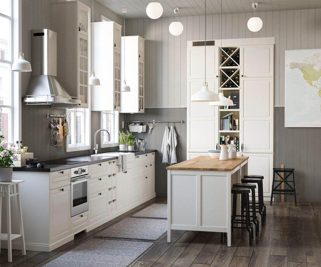 METOD Kitchen in 2020 House design kitchen, Ikea metod