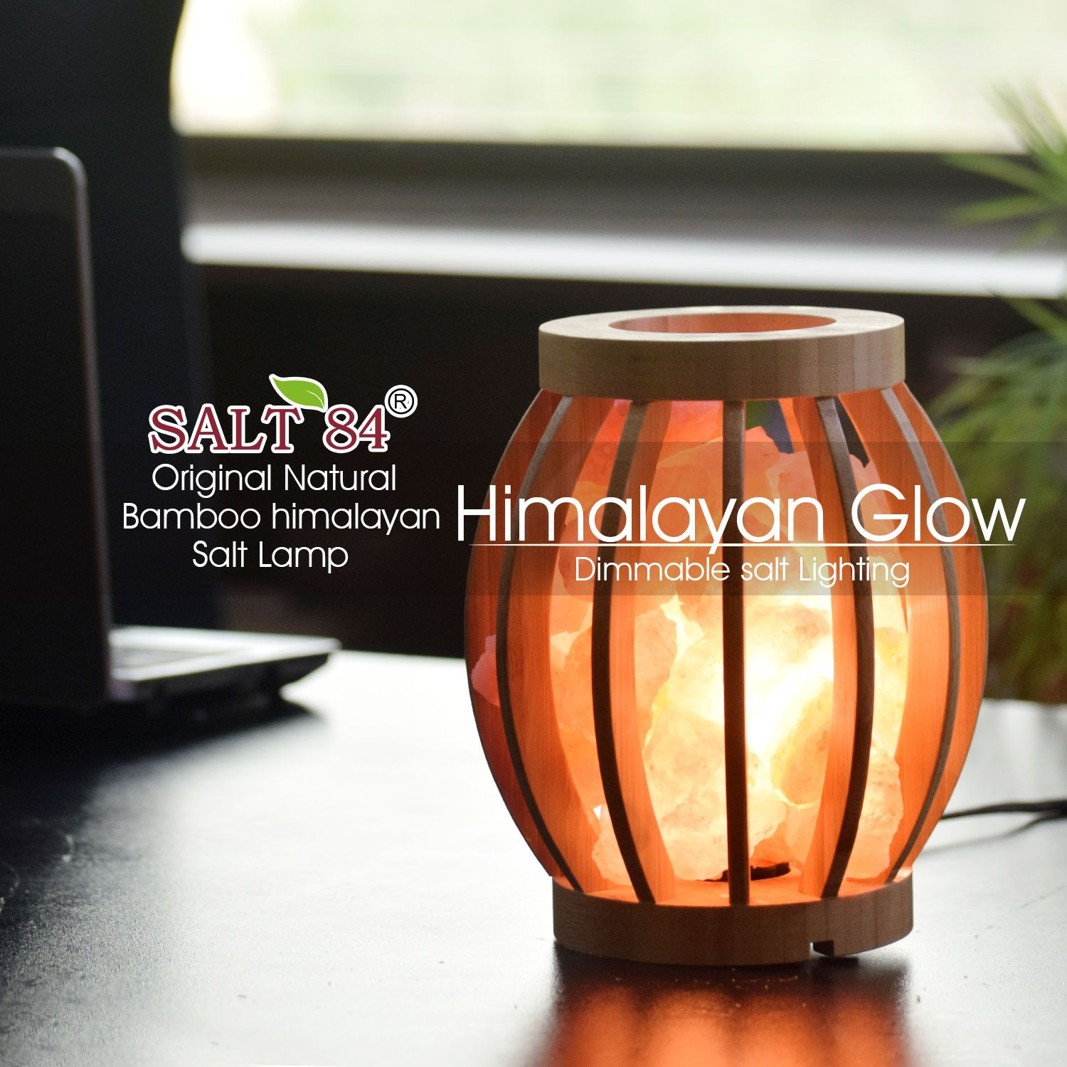 Salt84 Offers The Beautifully Designed Bamboo Basket Salt Lamp That Gives The Unique Look To Your Living Places Saltlamp Salt Lamp Salt Lamps Salt Rock Lamp