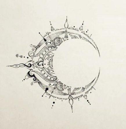 46  ideas tattoo moon mandala style   tattoo