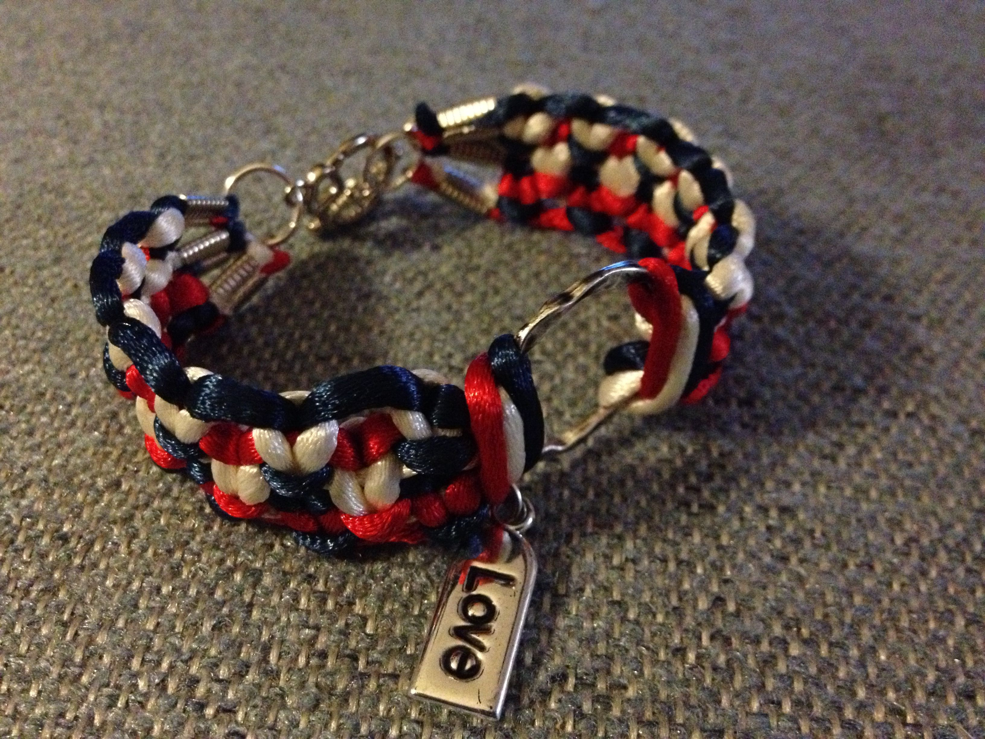 Six string friendship bracelet crafty pinterest string