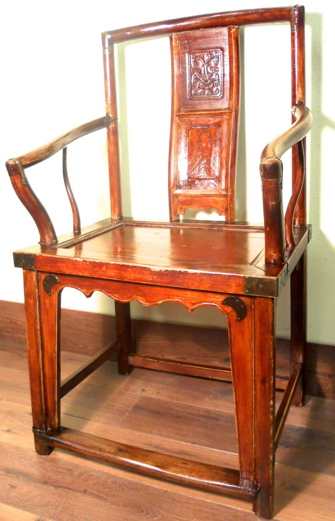 Antique Chinese Ming Arm Chairs (5699), Circa 1800-1849 More At FOSTERGINGER @ Pinterest