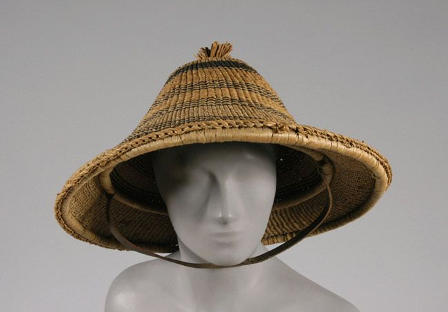 Hat | Asia, early 20th century | Material: bamboo | Philadelphia Museum of Art