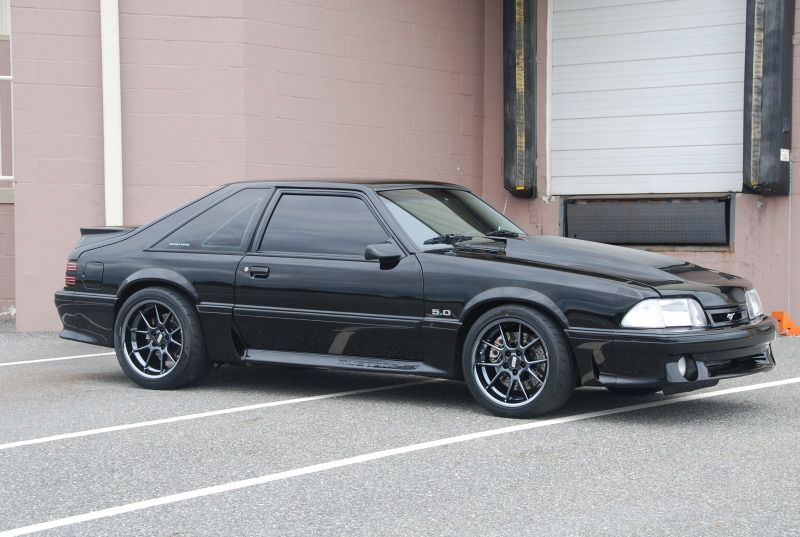 93 Mustang w/ 03 Cobra Engine | Fox-Body Mustangs (79-93
