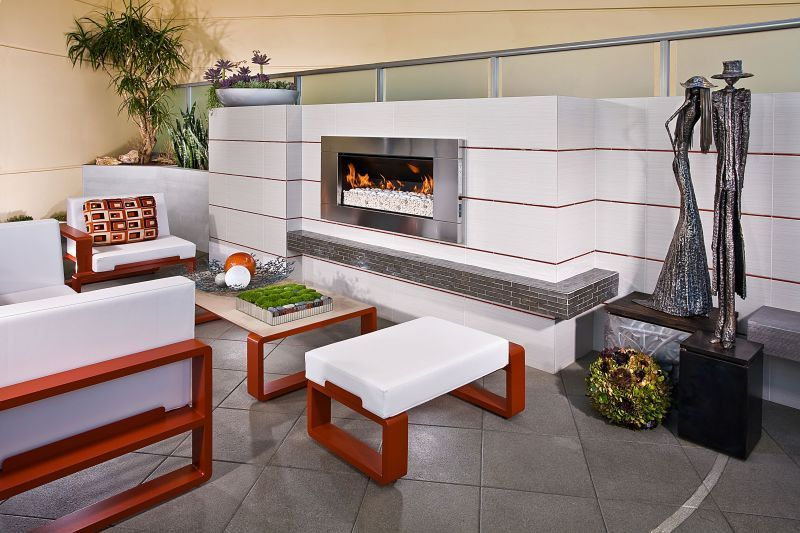Pivot Stove & Heating Company - Outdoor Gas Heaters - EF5000 Outdoor Gas Fire
