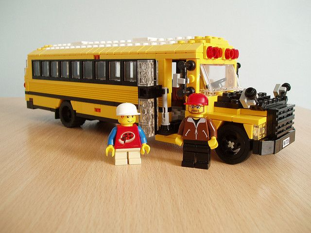 American School Bus 2 Five Star Lego Mocs From Around The Web