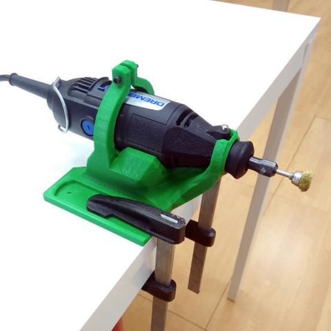 Download on https://cults3d.com #3Dprinting #Impression3D Support for Dremel 200 3D model, DIWOBQ