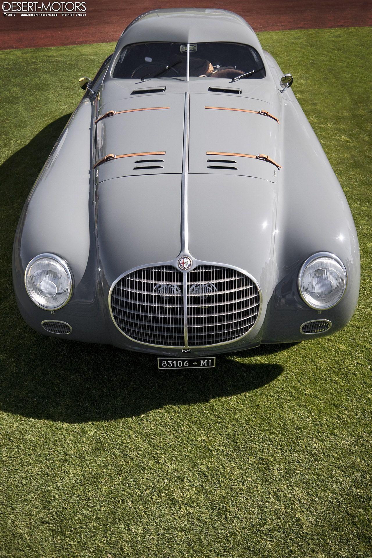 1942 Alfa Romeo 6C 2500 SS Berlinetta Aerodinamica
