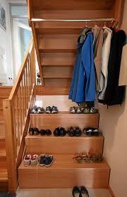 bildergebnis f r garderobe unter offener treppe staircase. Black Bedroom Furniture Sets. Home Design Ideas