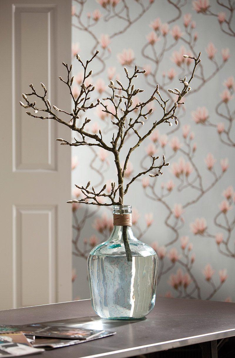 Stylen met grote vazen ** T - bloemen en planten in huis | Pinterest ...