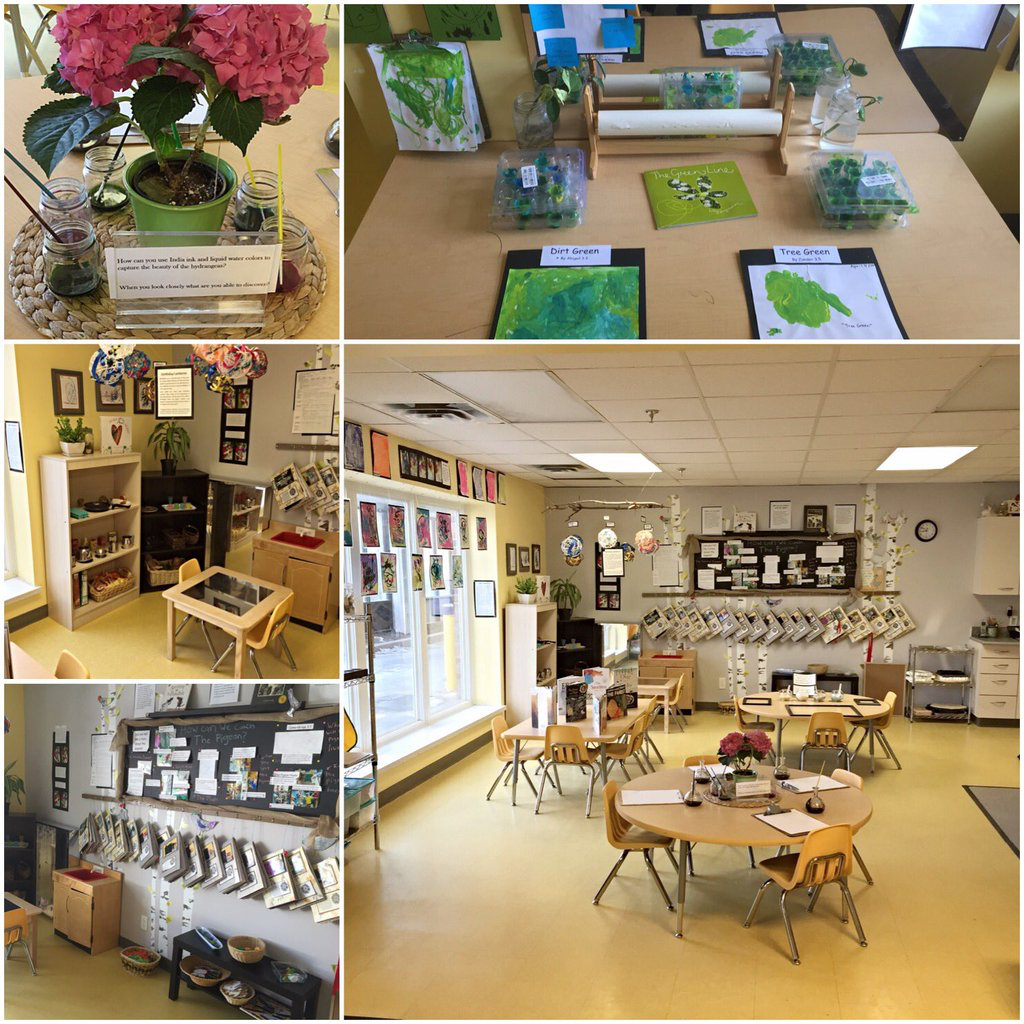 Junior Classroom Ideas : Jr preschool room at the sunflower school reggio inspired