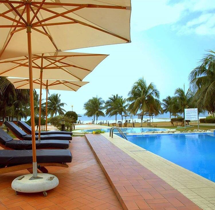 Busua Beach Resort In Ghana