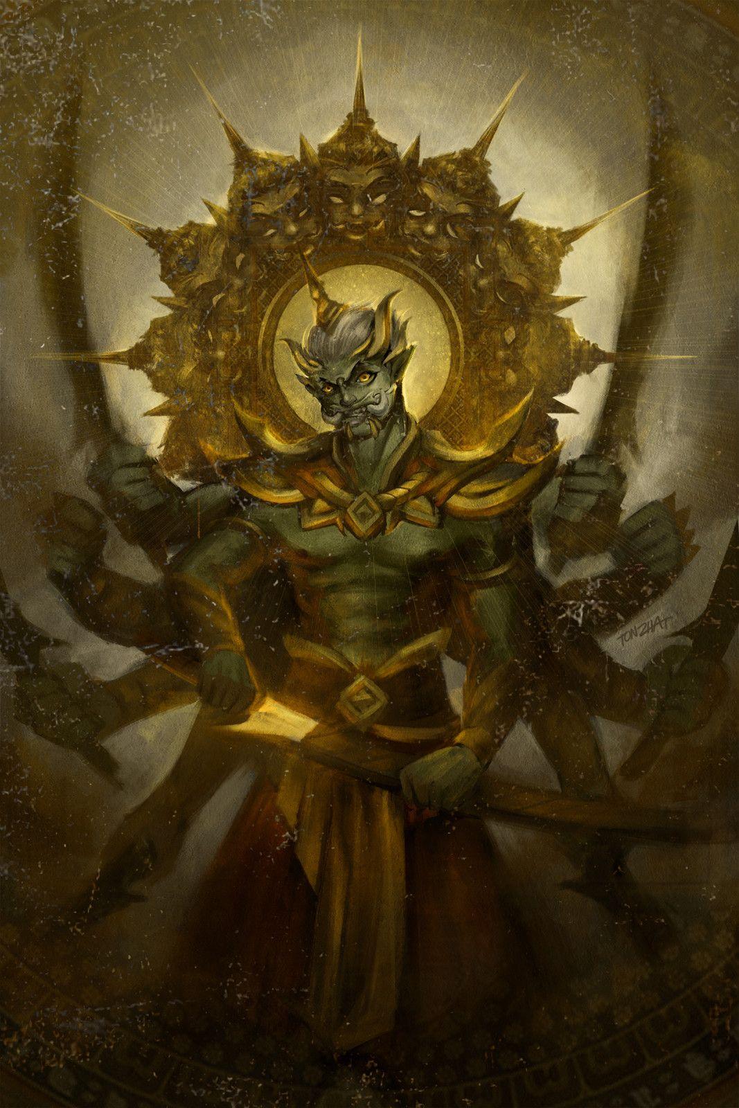 Pin by ดู เพลิน เพลิน on Demon king, King drawing