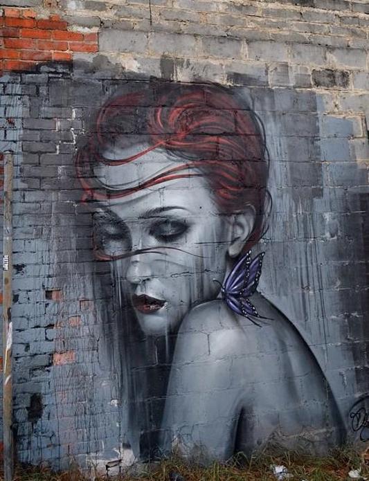 Street Art Graffiti Arte Callejero Art Pinterest Street Art - Beautiful giant murals greek gods pichi avo