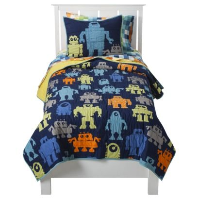 robot rug circo modern robot quilt set for little zs big boy bed 6999
