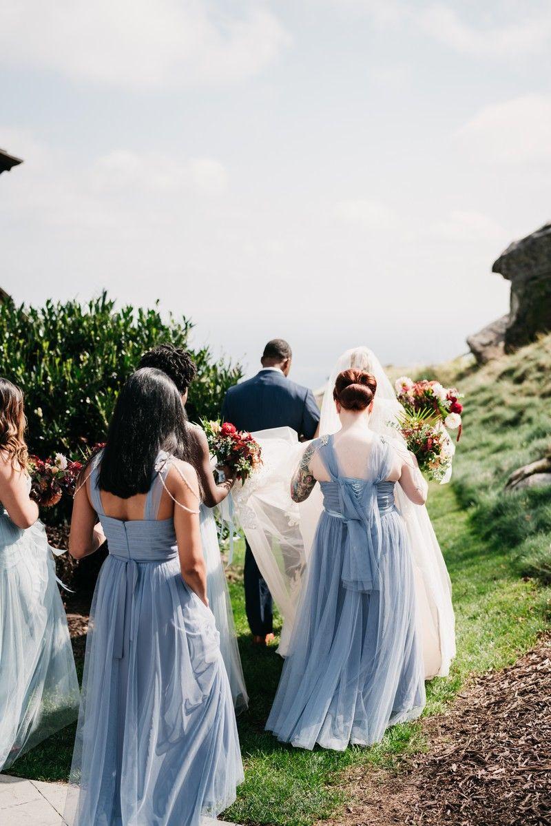 Tulle convertible multiwear bridesmaid dress tbqp brides