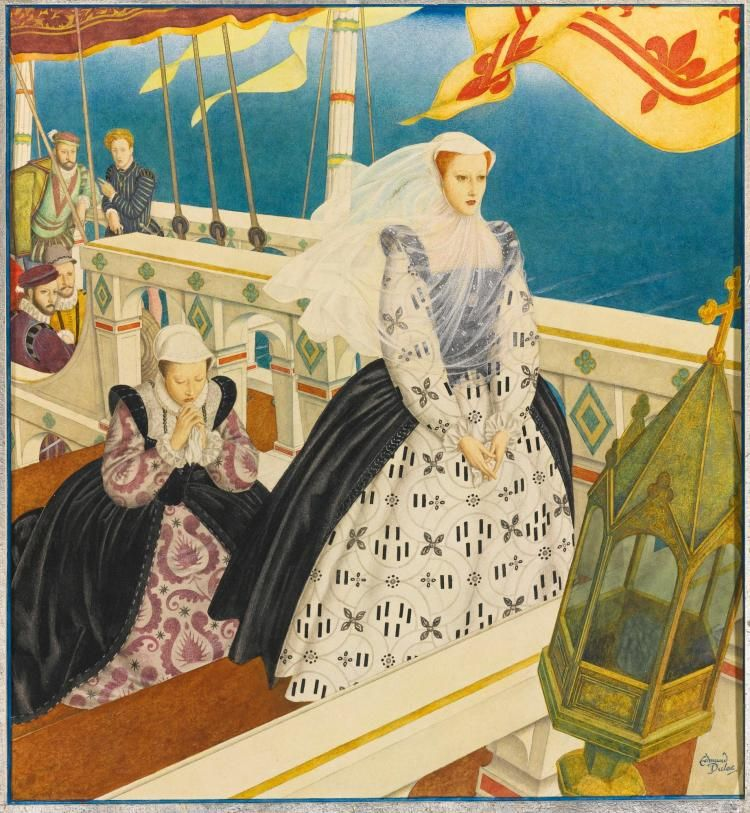 EDMUND DULAC, MARY QUEEN OF SCOTS, 1934.
