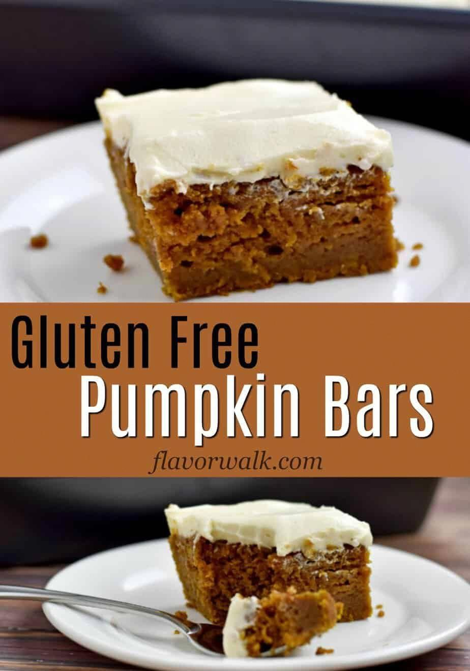 This Recipe For Gluten Free Pumpkin Bars Makes A Delicious Flavor