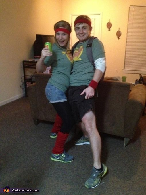 Citrus Soulmates / SunDrop Couple - Homemade Halloween Costume  sc 1 st  Pinterest & SunDrop Citrus Soulmates - Halloween Costume Contest at Costume ...