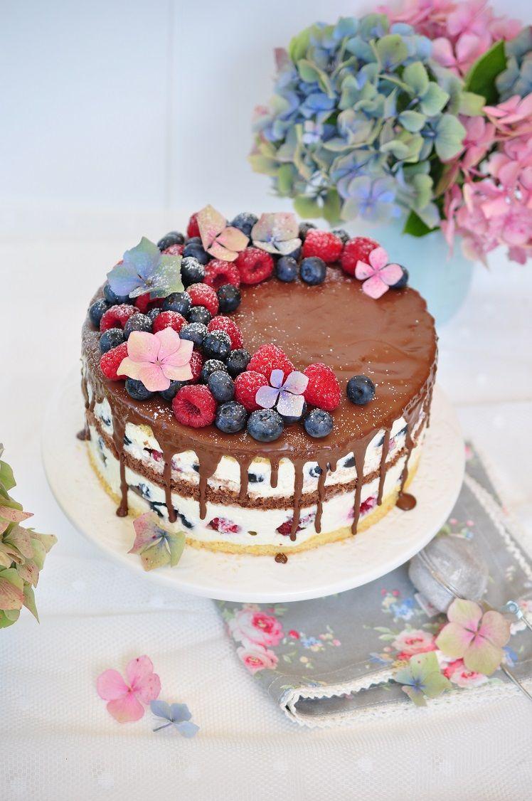 Caketime By Tamaris Schoko Beerentorte In Drei Verschiedene Varianten Muffin Schokolade Easy Vanilla Cake Recipe Chocolate Cake Recipe Easy Cake Recipes