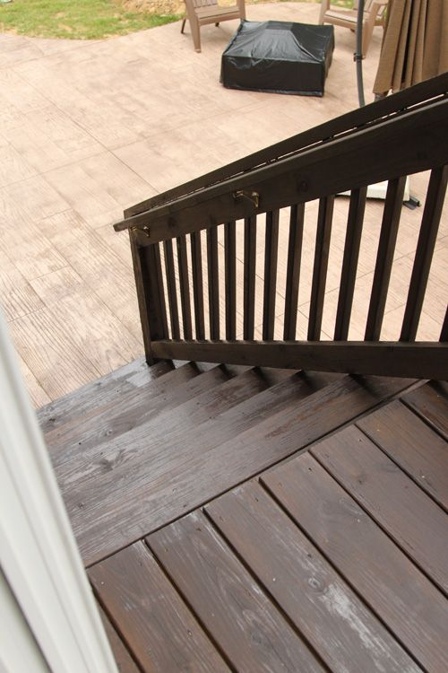 Img 9364 X500 Cabot Semi Solid Cordovan Brown Exterior House Pinterest Decking And Backyard