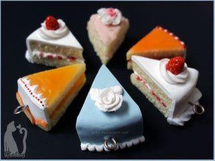 13 cake Art polymer clay ideas