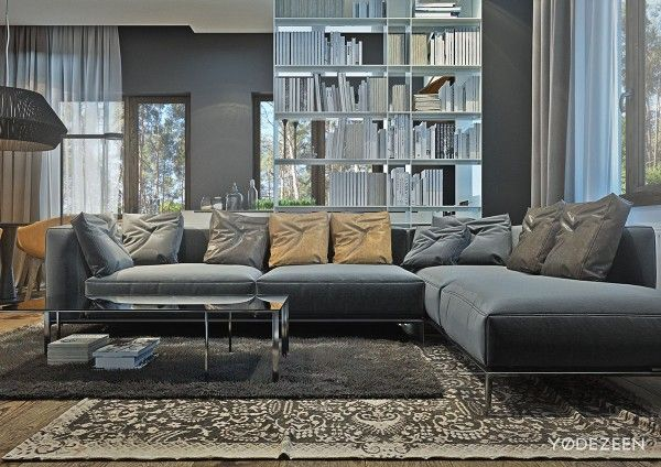 Cool a suburban kiev apartment design with luxury and budget in mind