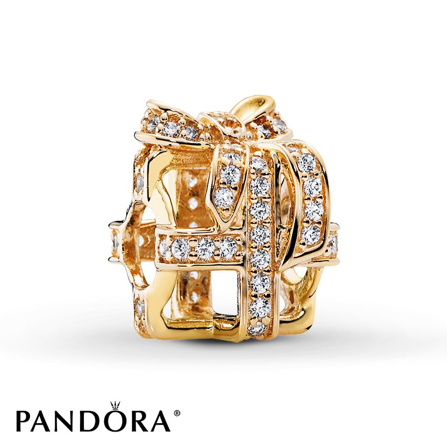 Pandora Charms Jared Galleria Of Jewelry: PANDORA Charm All Wrapped Up 14K Yellow Gold
