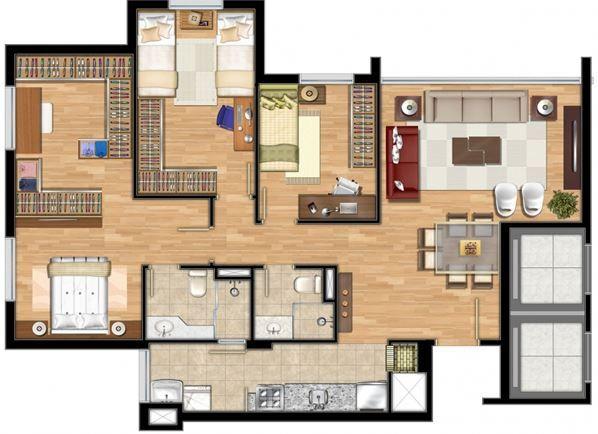 modelos de casas de 90m2 arch em 2019 plantas de casas